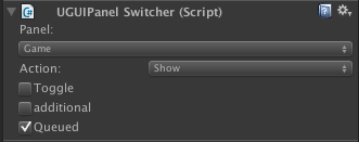 Screenswitcher component for Buttons